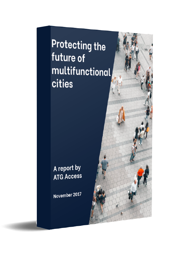 Protecting Multifunctional Cities White Paper Book Cover