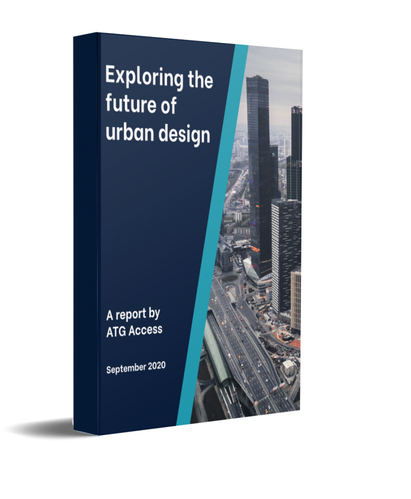 ATG Access White Paper The Future Of Urban Design Cover